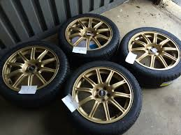 subaru bbs fs ft for sale or trade nj 5x100 gold sti bbs with 225 45r17