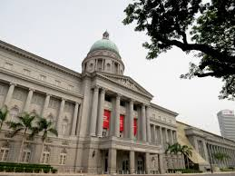 building architecture national gallery singapore