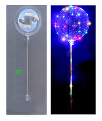 large balloons wholesale glow in the led clear foil balloon bobo balloon on