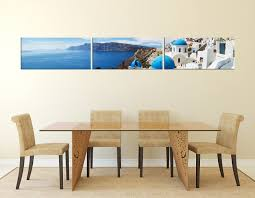 3 piece multi panel art city wall decor white canvas photography