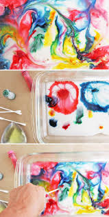 science for kids magic milk painting babble dabble do