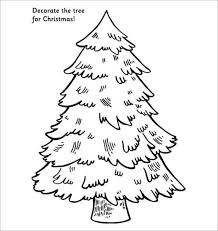 christmas tree template decoration template design