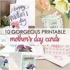 mothers day card 10 free mother u0027s day card printables it is a keeper