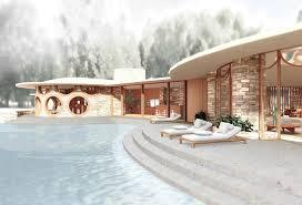 explore frank lloyd wright u0027s curvaceous unbuilt house design for