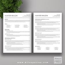 cv template for job seekers