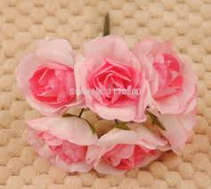 aliexpress com buy artificial mini paper roses mulberry paper