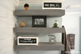 Diy Reclaimed Wood Floating Shelf by Decorations Reclaimed Wood Floating Shelves Stacy Risenmay And