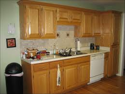 kitchen paint colors that go with oak cabinets painting wood