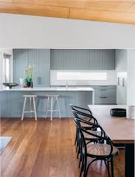 Kitchens With Laminate Flooring Kitchen Color Inspiration 12 Shades Of Blue Cabinets Contemporist
