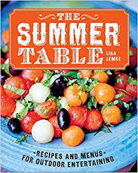 Summer Entertaining Recipes - the summer table recipes and menus for casual outdoor