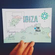 Map Wedding Invitations Custom Drawn Maps Lucy Says I Do