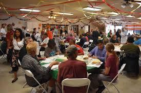 santa barbara rescue mission serves annual thanksgiving feast to