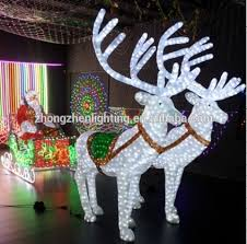 Outdoor Christmas Decorations Santa And Reindeer by Outdoor Christmas Sleigh Outdoor Christmas Sleigh Suppliers And