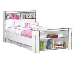 Zayley Full Bookcase Bed Twin Bed Frame With Bookshelf Headboard Home Beds Decoration
