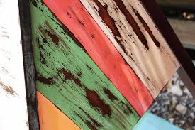 Distressing Diy by Multi Colored Desk U2014 Beachbumlivin Awesome Diy Furniture Project