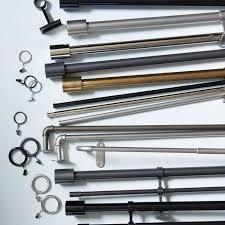 industrial pipe adjustable rods west elm