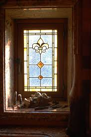 Fleur De Lis Bathroom De Lis Leaded Glass Bathroom Windows