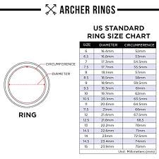 8mm ring size tungsten men s wedding bands archer comfort fit ring matte