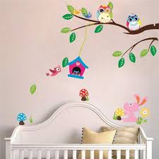 chambre bébé stickers décoration chambre bébé 31 idées originales thème hibou
