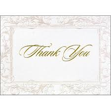 wedding thank you cards and blank wedding thank you note cards