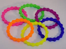 colored rubber bracelet images Colored bicycle chain silicone stretchy rubber bracelet etsy jpg