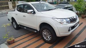 mitsubishi pickup trucks mitsubishi triton review is it easy and comfortable to drive