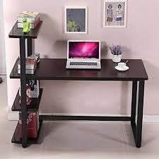 Bookcase Computer Desk Panana Black Computer Desk Home Office Furniture Pc Table Study