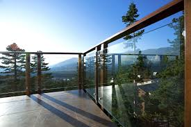 glass patio fencing ideas fence ideas varied and striking