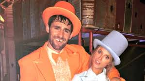 dumb and dumber costumes kevin kate bock wore dumb and dumber costumes