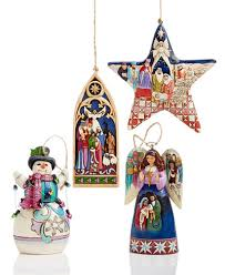 jim shore ornaments collection for the