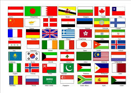 25 unique world flags with names ideas on correct