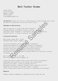 resume sample for teaching sample math teacher resume resume samples math teacher resume sample high