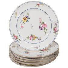 antique set dozen sèvres porcelain dishes for sale at 1stdibs