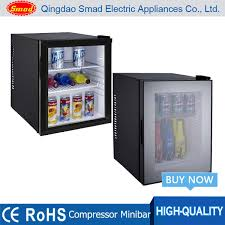 Table Top Refrigerator 35l Mini Glass Door Refrigerator Bar Fridge Table Top