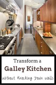 ideas for a galley kitchen galley kitchen makeover ideas to create more space