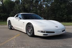 01 corvette z06 2001 corvette z06 speedway white 1 of 352 6 0l cammed