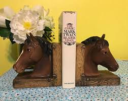 unique bookends for sale bookends etsy