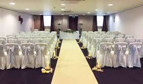 lace chair covers chair cover hire sash bows hire wedding table swagging venue