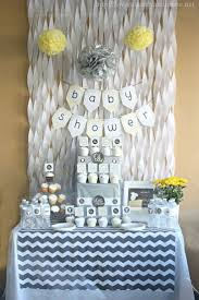 Diy Nursery Decor Pinterest by Gray U0026 Yellow Baby Shower Decorating Ideas Diys Crafts U0026 Recipes
