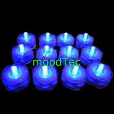submersible led tea lights other flowers celebrations gifts 12 pcs waterproof submersible