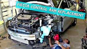 ford fiesta control arm replacement and removal 2009 2010 2011