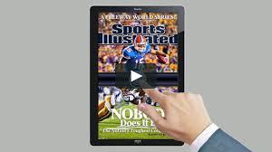 Wonderfactory Sports Illustrated Tablet Demo 1 5 On Vimeo