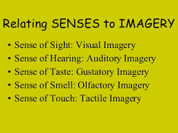 relating senses to imagery