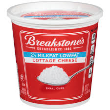 Cottage Cheese Breakstone S Small Curd Lowfat Cottage Cheese 24 Oz Tub Walmart Com