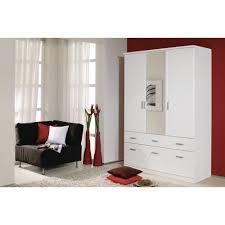 Schlafzimmer Schrank Amazon Rauch Kleiderschrank Mit Spiegel 4 Türig Weiß Alpin Mit 8