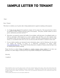 end of tenancy agreement letter from landlord template letter