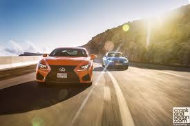 lexus vs mercedes sedan bmw m4 convertible vs lexus rc f crankandpiston com