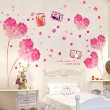 Mural Stickers For Walls Popular Pink Bedroom Decor Buy Cheap Pink Bedroom Decor Lots From