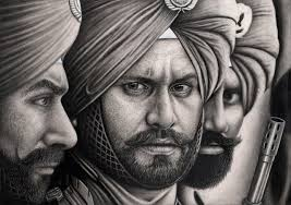 sikh soldiers u0027 graphite drawing by pen tacular artist on deviantart