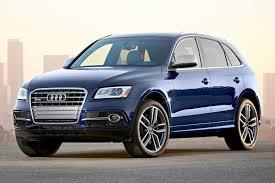 Audi Q5 Blue - 2017 audi sq5 3 0t premium plus quattro suv review u0026 ratings edmunds